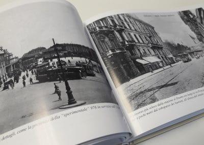 Progettazione, impaginazione e realizzazione libro di foto storiche ATM