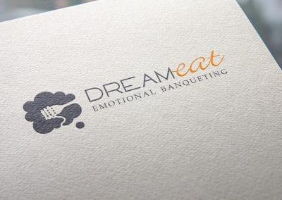 Progettazione logo DREAM EAT