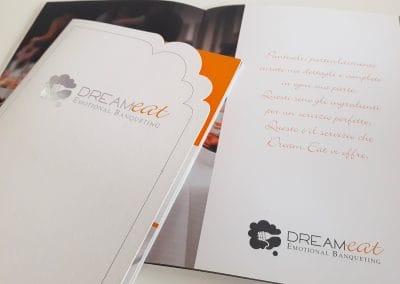 Creazione brochure di presentazione aziendale DREAM-EAT