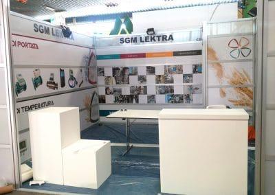 Progettazione, realizzazione e allestimento stand SGM LEKTRA