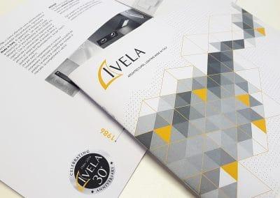 Creazione brochure di presentazione aziendale IVELA