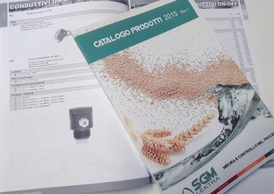 Realizzazione catalogo prodotti SGM LEKTRA
