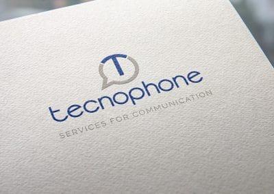 Progettazione logo TECNOPHONE