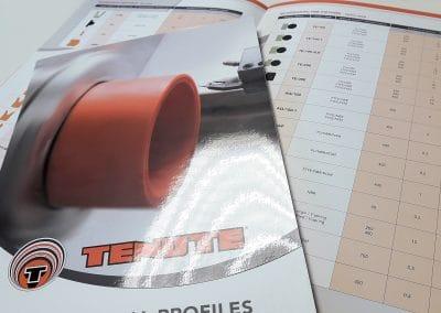 Realizzazione catalogo tecnico TENUTE